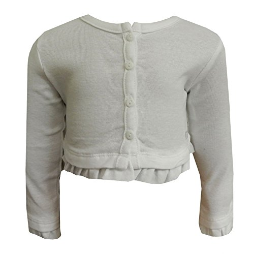 3681acd74928 Mayoral Baby Girls  Bolero (White) Available at Traditional ...