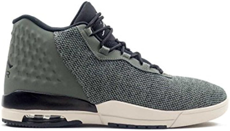 Jordan Schuhe – Academy grau/schwarz/weiß Größe: 42.5
