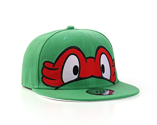 Underground Kulture Tortues Ninja Casquette de Baseball Réglable (Turtles - Red)