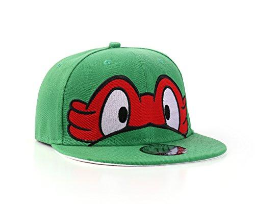 Underground Kulture Ninja Turtles Rot Snapback Baseballkappe (Red)
