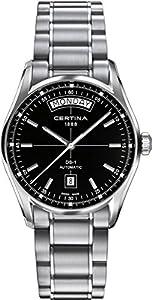 Certina C006.430.11.051.00 - Reloj de automático para hombre, con correa de acero inoxidable, color gris por Certina