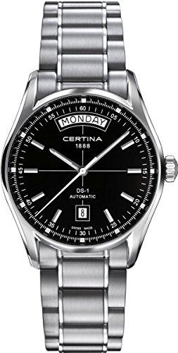 Certina Herren-Armbanduhr XL Analog Automatik Edelstahl C006.430.11.051.00