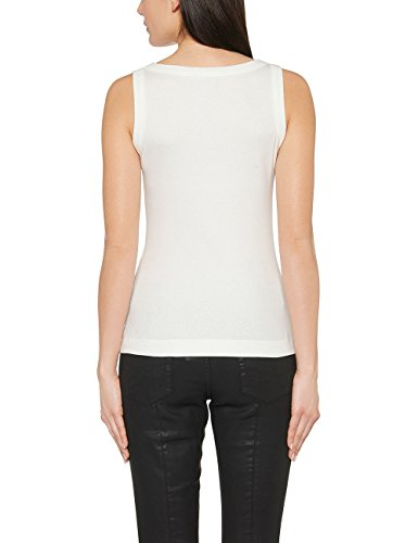 Marc Cain Essentials Damen Top +E6125J50 Elfenbein (off-white 110)
