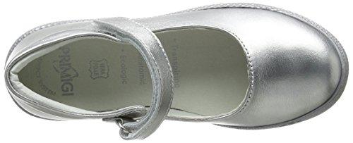 Primigi Ptf 7187, Mary Jane fille Argent (Alluminio)