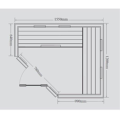 Home Deluxe – Infrarotkabine – Redsun XL