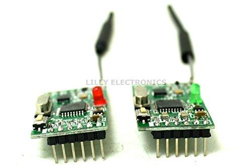 Q-BAIHE 2.4G NRF24L01 Kabelloses digitales Audio-Transceiver Modul Audio-transceiver