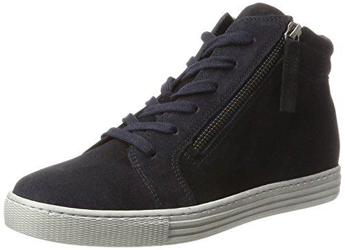 Gabor Shoes Damen Comfort Basic Derbys, Blau (36 Nightblue (Micro)), 38 EU Comfort Schuhe
