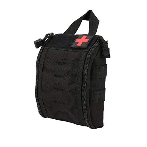 JullyeleFRgant Outdoor Portable First Aid Bag Tactical Medical Case Multifunctional Waist Pack Camping Climbing Emergency Bag Survival Kit