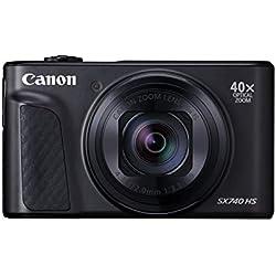 Canon - Powershot SX740 - Appareil Photo Numérique Compact - Noir