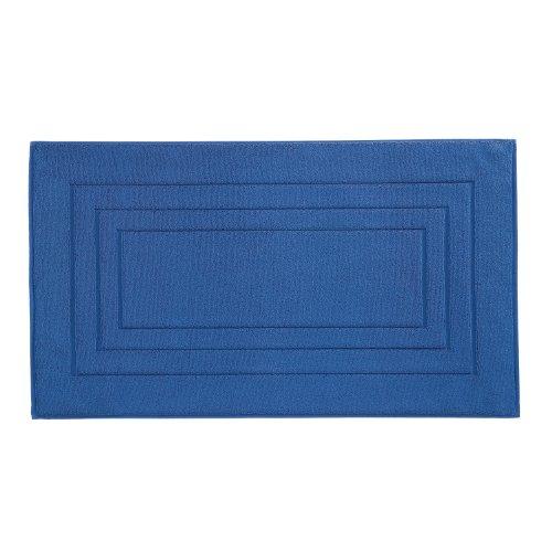 Vossen 1149410479 Feeling - Badeteppich, 67 x 120 cm, reflex blue