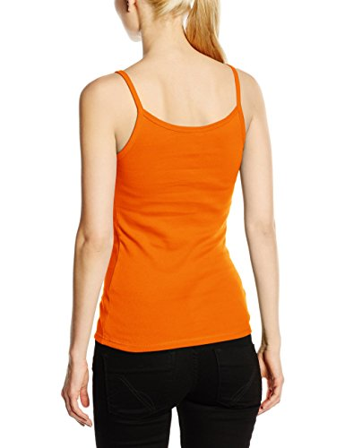 Fruit of the Loom Ss089m, T-Shirt Femme Orange