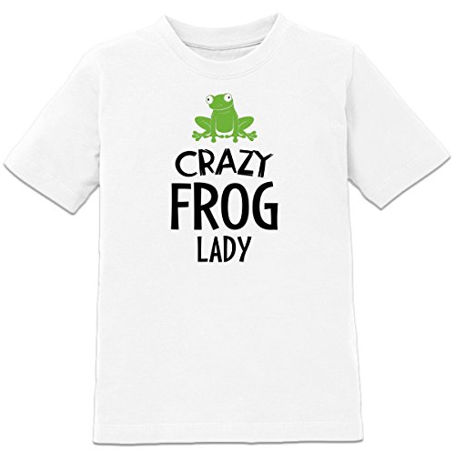 Crazy Frog Lady Kinder T-Shirt by Shirtcity (Crazy Frog T-shirts)