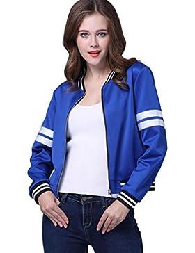 FEITONG capa de las mujeres de la chaqueta otoño invierno calle chaqueta chaquetas de las mujeres ocasionales