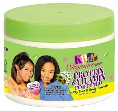 Africa's Best Kids Organics Protein & Vitamin Fortified Healthly Hair & Scalp Remedy 220 ml by Africa's Best
