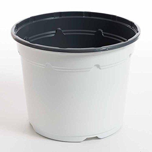 Pot horticole DUO 17 cm blanc (x10)