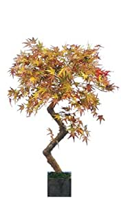 Artificial Autumn Acer Tree - 3ft high. Stunning Bonsai style replica tree by Red Hot Plants