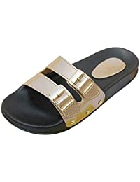 c42c7db2b14f Amazon.in  Gold - Flip-Flops   Slippers   Women s Shoes  Shoes ...