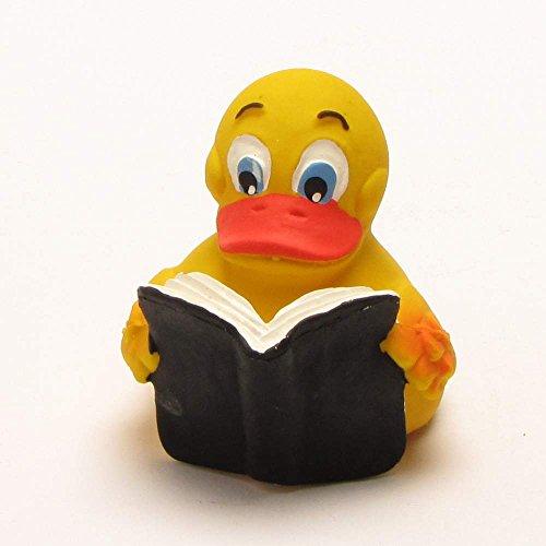 Lesende Badeente