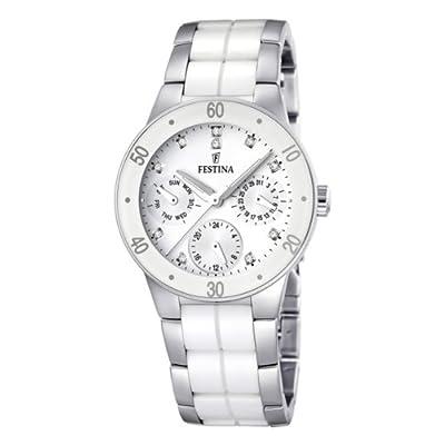 Reloj Festina F16530/3 de cuarzo para mujer con correa de acero inoxidable, color multicolor de Festina