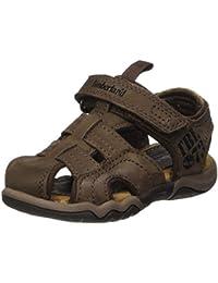 Timberland Unisex-Kinder Active Casual Sandal_oak Bluffs Leather Fisher Sandalen