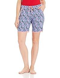 Jockey Women's Modal Shorts (RX10-0103-RL052_Multicoloured_L)