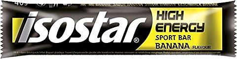 Bar Isostar Energy High Energy 15 x 40 g Banana