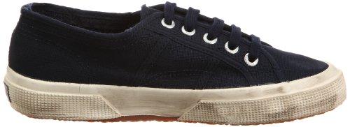 Superga 2750 COTUSTONEWASH, Sneaker Unisex - Adulto Blu (Navy)