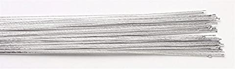 Floral Wire - Silver 24 Gauge - Pack of 50