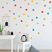 Bright Polka Dot Circle Spot Wall Sticker Kid Decal Art Nursery Bedroom Vinyl Decor