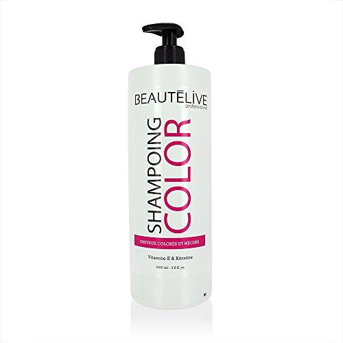 Beautélive Color - Shampoing prolongateur de couleur 1000ml, Shampoing cheveux colorés