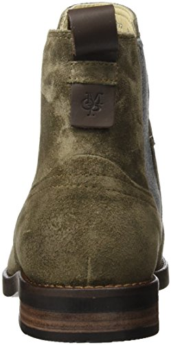 Marc O'Polo Damen Flat Heel Chelsea 70814225001304 Boots Braun (Taupe)