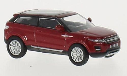 Land Rover Range Rover Evoque, rosso, RHD, 0, modello di automobile, modello prefabbricato, Oxford 1:76 Modello esclusivamente Da Collezione