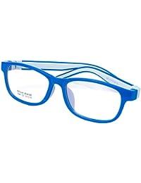 154530fa34 Juleya Marco para gafas para niños - Silicona - Gafas de lectura para niños