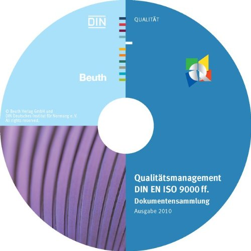 Qualitätsmanagement DIN EN ISO 9000 ff: Dokumentensammlung