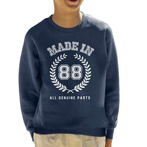 Coto7 Made In 88 All Genuine Parts Kid's Sweatshirt -
