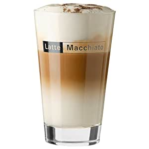 latte macchiato glas 400 ml h 13 3 cm 6st gerade. Black Bedroom Furniture Sets. Home Design Ideas