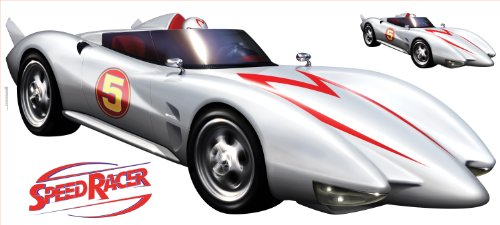 RoomMates RMK1146GM Speed Racer Mach 5 Peel & Stick Giant Wall Decal (Giant X-men)