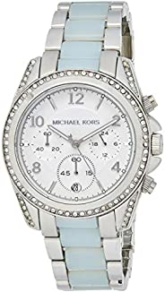 Michael Kors Womens Quartz Watch, Analog Display and Stainless Steel Strap MK6137