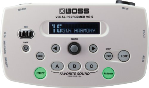 BOSS VE-5 - White