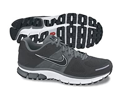 NIKE Air Pegasus+ 28 Men's Running Shoes, Black/Grey, UK8