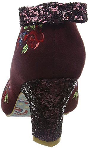 Irregular Choice Bloom Beauty, Escarpins femme Red (Bordo)