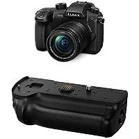 Panasonic DC-GH5MEB-K Lumix G Compact System Camera with DMW-BGGH5E Battery Grip - Black Bundle