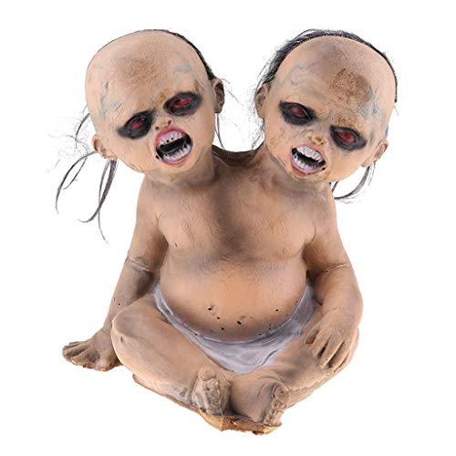 B Baosity Halloween Gruseliger Geist Zombie Puppe Spielzeug Für Karneval Requisiten Party Deko - # 6