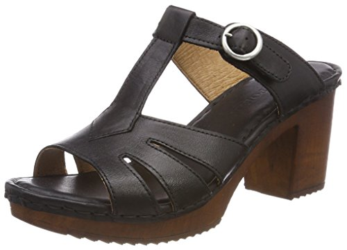 (TEN POINTS Damen Amelia Offene Sandalen, Schwarz (Black), 39 EU)