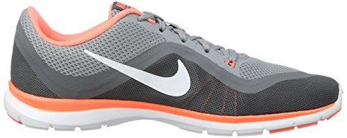 Nike - 831217-009, Scarpe sportive Donna Grigio (Stealth/cool Grey/white/bright Mango)