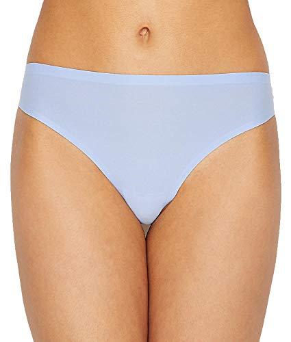 Cotton Spandex String-tangas (Chantelle Damen 2649 Basisschicht, Unterwäsche - blau - Einheitsgröße)