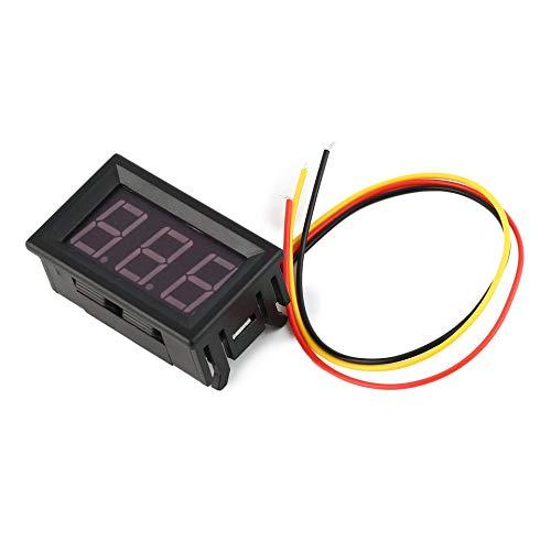 ARDUTE 0-100V 0.56in 3 Wire Digital Panel Voltmeter Voltage Meter Car Volt TesterBlue Line Voltage Tester