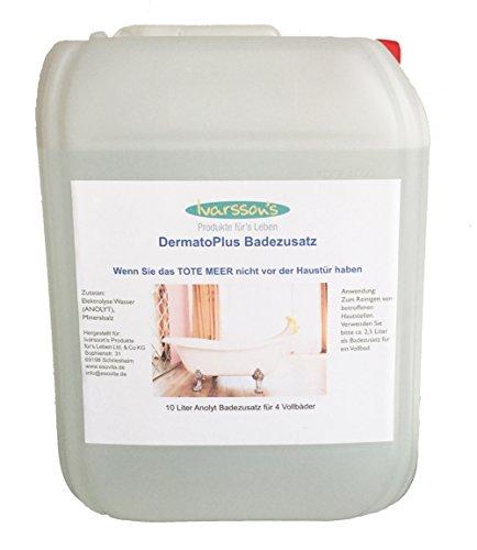 Preisvergleich Produktbild Badezusatz - Badesalz gesucht VERSANDKOSTENFREI - DermatoPLUS 10 Liter - ein besonderes Wasser! Badezusatz - Für alle,  die das TOTES MEER ( Salz ) nicht vor der Haustür haben - totes Meer Kosmetik