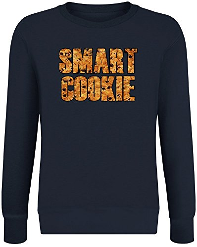 t Cookie Sweatshirt Jumper Pullover for Men & Women Soft Cotton & Polyester Blend Unisex Clothing Small ()