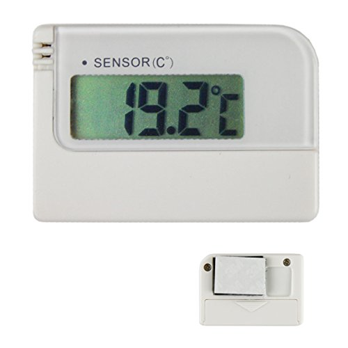 Digital Autothermometer mini weiß